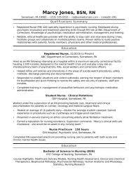 Resume Samples Nursing Registered Nurse Rn Resume Sample Monster Inside Example Nursing 2
