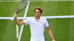 Djokovic, who hadn't lost since getting beaten by rafael nadal at the. Wimbledon Die Kunst Des Alexander Zverev Sport Sz De