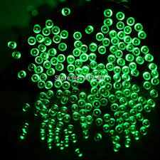 Waterproof 55FT 100LED 3Modes Green Solar Fairy String Lights solar string  light outdoor for gardens homes Christmas party-in Lighting Strings from  Lights ...