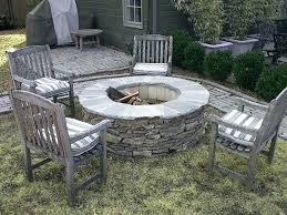 outdoor stone fire pit. Wood Burning Stone Fire Pit Kit Kits Place Outdoor Pertaining To Prepare 10 N