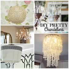 diy pretty chandeliers via remodelaholic com