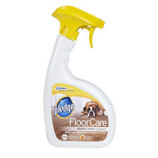 pledge 32 fl oz hardwood floor cleaner
