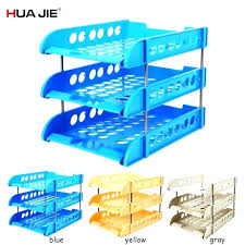 Plastic <b>File</b> Holder <b>Box</b> Paper Organizer – Cambyo