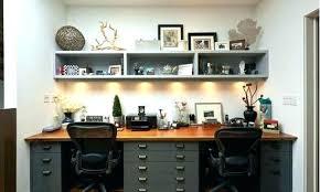 dual desk home office. Home Office Ideas For Two Dual Desks Desk Entrancing Inspiration Design Of Plain Modern L