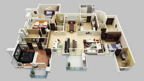 Floor Plans For 5 Bedroom Homes Decor Collection Unique Decoration