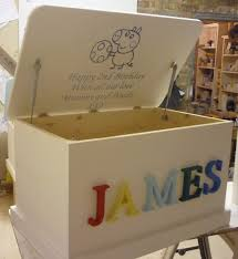 Furniture Box Personalised Toy Box 3d Letters Or Carved In Hand Made In Home