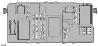 fuse specification chart fuses ford focus owners manual ford passenger compartment fuse box