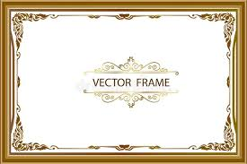 frame border design. Contemporary Frame Download Gold Photo Frame With Corner Thailand Line Floral For Picture  Vector Design Decoration Pattern In Border