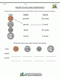 Math : Counting Coins And Money Worksheets Printouts ...
