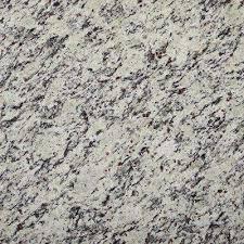 3 in x 3 in granite countertop sample in white napoli