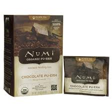 Numi <b>Organic Tea Pu-erh</b> - <b>Chocolate</b> | 16 Bags | Nagetiere