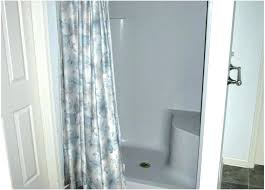 shower curtain for stand up portable unique elegant graph rod home depot sho stand alone shower