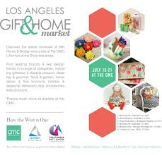 the la gift home market returns to the fashion district july 15 21 at the california market center cmc featuring hundreds of home and gift brands