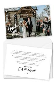 Wedding Thank You Notes Templates 10 Wording Examples For Your Wedding Thank You Cards