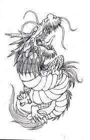 四神獣と黄龍のイラスト制作