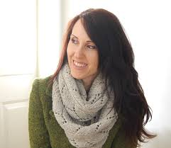 Knitted Infinity Scarf Pattern Custom Decoration