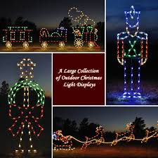 Outside Christmas Lights A Large Collection Of Outdoor Christmas Light Displays 0jpg