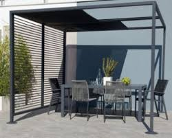 pitched roof insulation metal pergola
