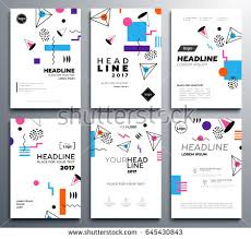 presentation booklet covers vector template a stock vector  presentation booklet covers vector template a4 pages abstract background make your presentation look