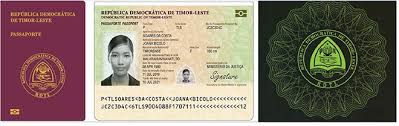 East Timor Passport Gemalto Biometric Its Launches