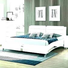 White Bedroom Set Queen Bed 3 Piece Furniture Full And Silver 6 ...