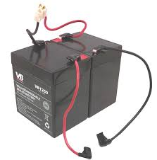 razor scooter battery 4 5ah 20hr w reset wires for razor e100 4.6 dohc wiring harness at 4 6 3v Wiring Harness