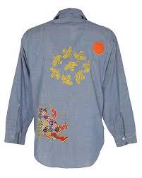 vintage 70 s big mac jcpenney customized denim shirt l