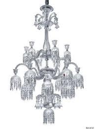 baccarat baccarat zenith arm black crystal chandelier