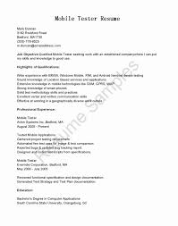 Sample Resume For Experienced Software Tester sample resume for software tester software qa resumes hola klonec co 39