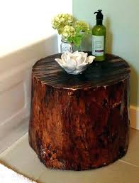 lovely tree stump and glass coffee table and coffee table tree trunk clever things to do