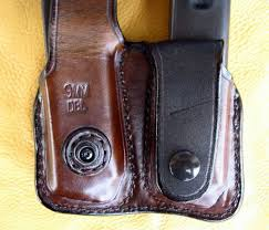 Leather Magazine Holder Gun Classy Garrity's Gunleather Belt Magazine Pouches
