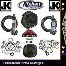 Jeep Jk Regear Chart Jeep Wrangler Jk Dana 44 30 Re Gear Ring Pinion Yukon Gear