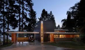 modern houses architecture.  Modern Enatai House Bellevue Throughout Modern Houses Architecture