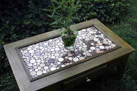 exceptional mosaic tile coffee table contemporary tables diy