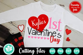 Available source files and icon fonts for both personal and commercial use. 1st Valentine S Day A Valentine S Svg Cut File 420479 Cut Files Design Bundles