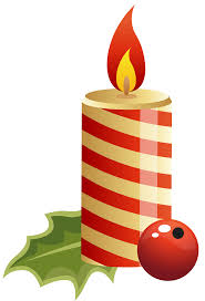 Red Christmas Candle PNG Clipart Image | Gallery Yopriceville ...