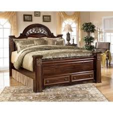 shermag contour bedroom furniture. gabriela poster bed w/ storage footboard, ashley, collection shermag contour bedroom furniture