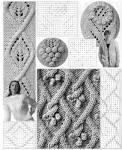 Бесплатно схемы вязания кос спицам