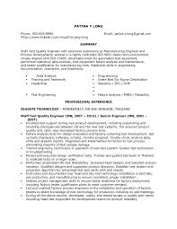 Beautiful Failure Analysis Engineer Resume Photos - Simple resume .