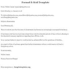 Formal Email Format Google Search Business Letter Email