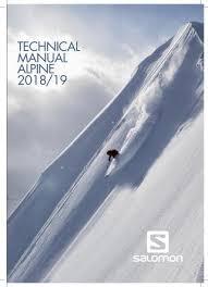 Salomon Alpine Tech Manual 2018 19 By Salomon Issuu