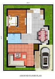 modest design 30x40 house plans 3040 house plan