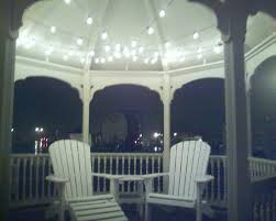 outdoor gazebo chandelier solar