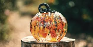 glass pumpkin patch of carmel