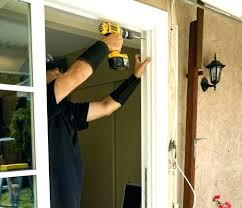 fix door jamb replacing door jamb how to replace a door jamb replace garage door frame