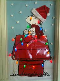 christmas classroom door decorations. Charlie Brown Christmas Classroom Door Decorations A