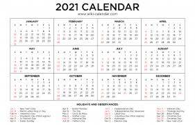 Free calendars are available in jpg and pdf. Free Printable 2021 Monthly Calendar Wiki Calendar