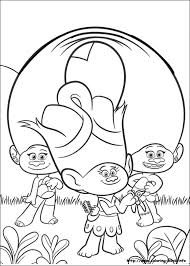 Small Picture Trolls coloring pages on Coloring Bookinfo