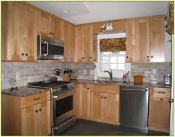 Fine Maple Kitchen Cabinets Backsplash Full Version M And
