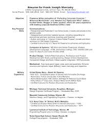 Freelance Writer Resume Free Resume Example And Writing Download